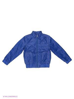 Куртка-ветровка Born. Цвет: синий