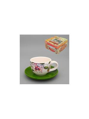 Набор чайный 2 пр. МЭРИ-РОУЗ MOLENTO. Цвет: белый
