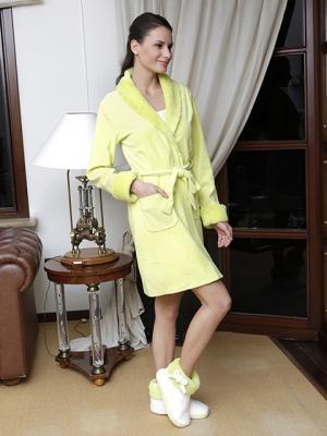 Домашний костюм HAYS. Цвет: желтый
