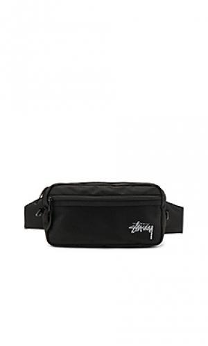 Stock side bag Stussy. Цвет: черный