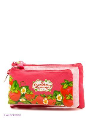 Пенал-косметичка Strawberry Shortcake Action!. Цвет: розовый