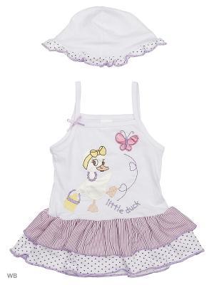 Платье, панама Babycollection