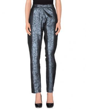 Повседневные брюки JUST IN CASE. Цвет: грифельно-синий