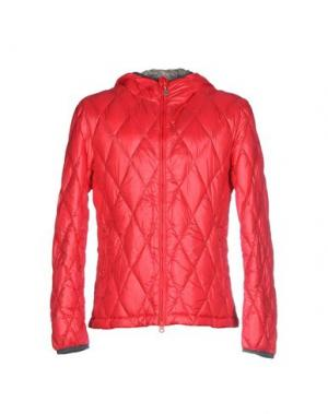 Пуховик BPD BE PROUD OF THIS DRESS. Цвет: красный