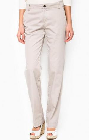 Серые брюки чиносы Marc O'Polo. Цвет: серый