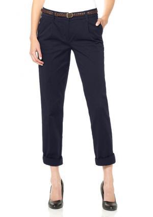 Комплект: брюки чинос + ремень BOYSENS BOYSEN'S. Цвет: бежевый