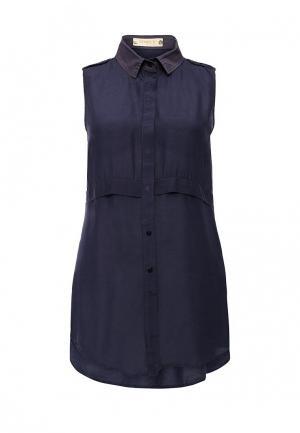 Блуза Met. Цвет: синий