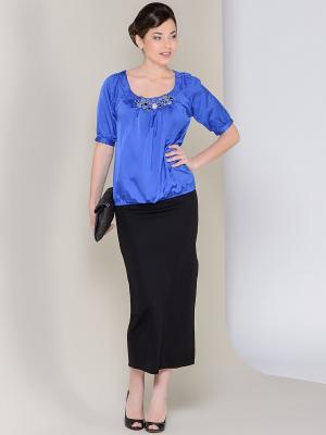 Блузка ARBOR VITAE. Цвет: синий