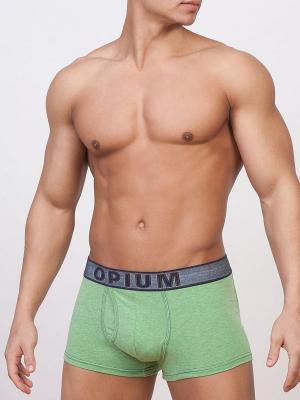 Трусы OPIUM. Цвет: зеленый
