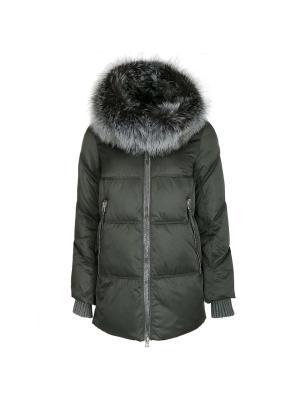 Куртка Snow Guard. Цвет: хаки