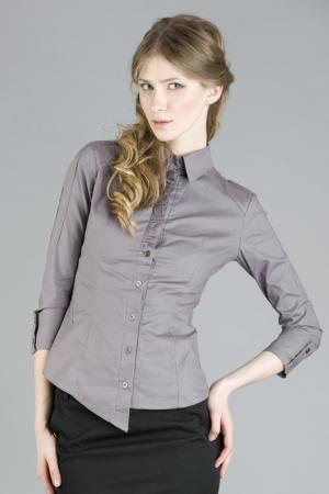 Рубашка Gloss. Цвет: капучино