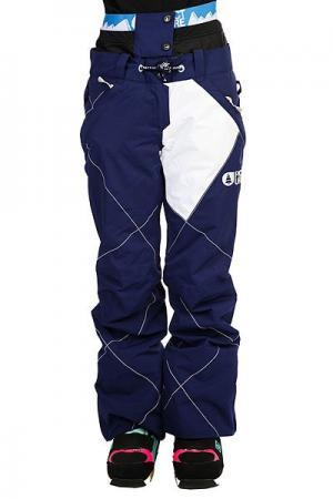 Штаны сноубордические женские  Fever Dark Blue Picture Organic. Цвет: синий
