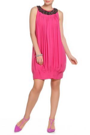 Платье Paul Smith. Цвет: розовый