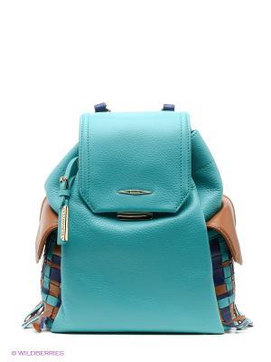 Рюкзак Eleganzza. Цвет: бирюзовый, коричневый