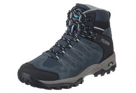 Polarino Blissar, кроссовки для активного отдыха. Цвет: тёмно-синий с чёрным