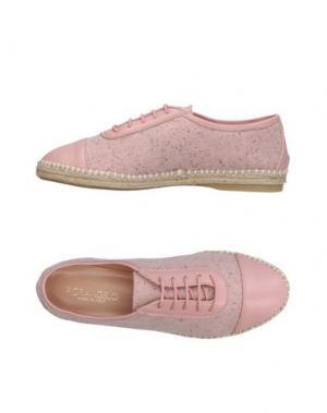 Обувь на шнурках FIORANGELO. Цвет: розовый