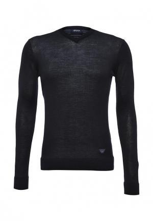Пуловер Armani Jeans. Цвет: синий