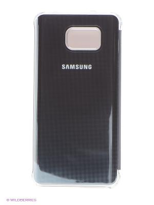 Чехол для  Galaxy Note 5 ClearView Samsung. Цвет: серый
