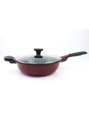 Сковорода RAINSTAHL. Цвет: коричневый