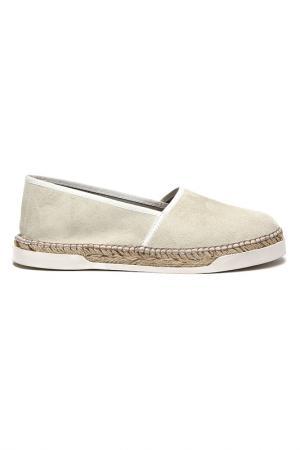 Туфли DERIMOD. Цвет: белый