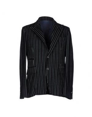 Пиджак JOHN SHEEP. Цвет: темно-зеленый