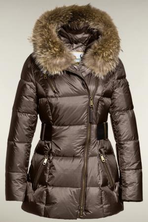 Куртка Goldbergh. Цвет: коричневый