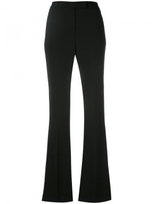 Nellie flared trousers Ql2. Цвет: чёрный
