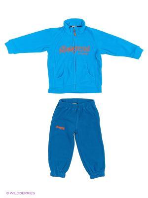 Спортивный костюм Bergans. Цвет: темно-синий, синий