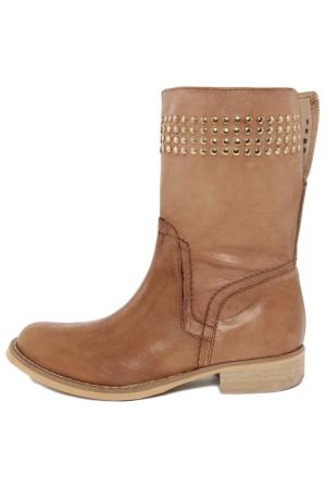 Half-boots PAOLA FERRI. Цвет: brown