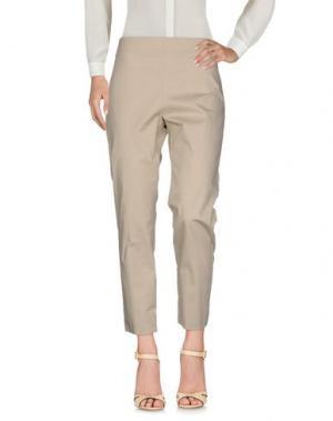 Повседневные брюки LAFTY LIE. Цвет: бежевый