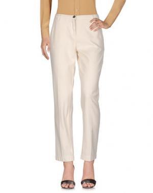 Повседневные брюки MASSIMO ALBA. Цвет: слоновая кость
