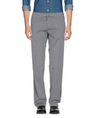 Повседневные брюки MANUEL RITZ. Цвет: свинцово-серый