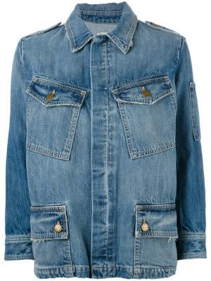 Джинсовая куртка  Update Current/Elliott. Цвет: синий