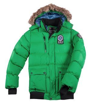 Куртка XLAND Оптимальная Защита AFM. Цвет: зеленыи