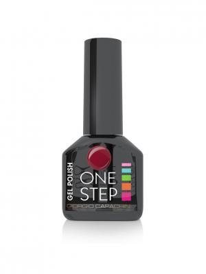 Однофазный гель-лак One Step №32, 6 мл GIORGIO CAPACHINI. Цвет: бордовый