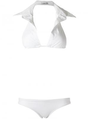 Triangle bikini set Amir Slama. Цвет: белый