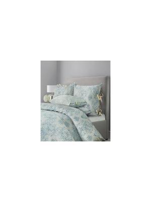 Комплект постельного белья SL Chalet Семейный Грозовой синий Mona Liza. Цвет: синий