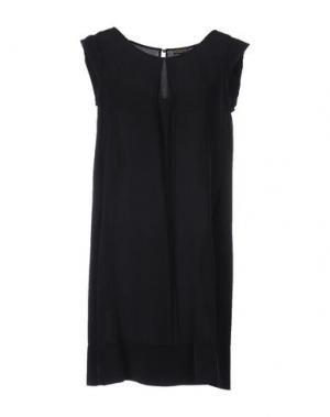 Короткое платье MALÌPARMI. Цвет: черный