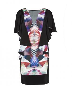 Шелковое платье LUBLU Kira Plastinina. Цвет: multicolor