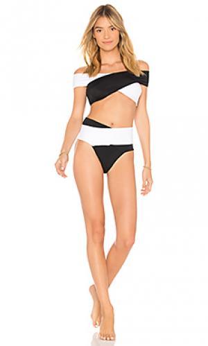 Комплект бикини lucette OYE Swimwear. Цвет: черный
