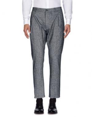 Повседневные брюки •MILANO PARIGI•. Цвет: серый