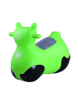 Мяч-попрыгун Мотоцикл Easy Body. Цвет: черный,зеленый