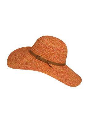 Шляпа Betmar. Цвет: оранжевый