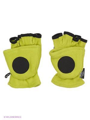 Перчатки IGNITE. Цвет: зеленый