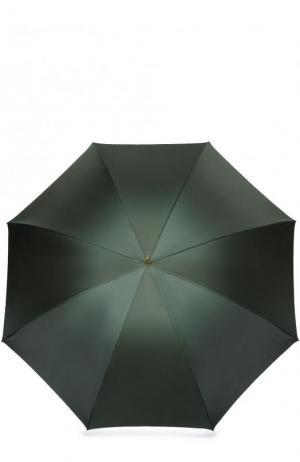 Зонт-трость Pasotti Ombrelli. Цвет: темно-зеленый