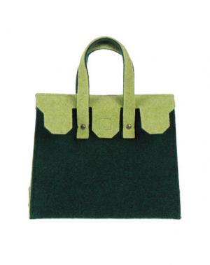 Сумочка из текстиля GB8. Цвет: зеленый