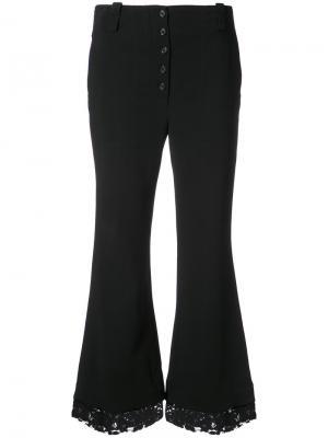 Расклешенные брюки Proenza Schouler. Цвет: чёрный