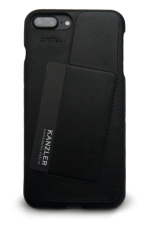 Чехол-бампер для iPhone 7 plus ZAVTRA. Цвет: черный