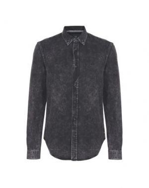 Джинсовая рубашка SCOTCH & SODA. Цвет: черный