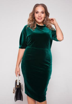 Платье Eliseeva Olesya. Цвет: зеленый
